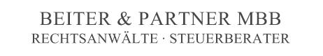 BEITER & PARTNER MBB – Rechtsanwälte und Steuerbeater Logo